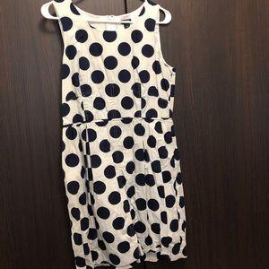 Dresses & Skirts - Jcrew polka dot dress